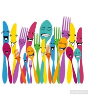 Glozis Spoon and Forks...