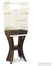 iMac Calla с подставкой для средних попугаев, пластик, латунь 62х43х78/150 см (13524)