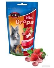 TRIXIE Biscies in Strawberry MiniDrops 75 гр клубника (60334)
