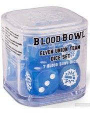 Games Workshop Blood Bowl: Elven Union Dice Set (99220910001)