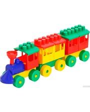 ПОЛЕСЬЕ Паровоз с двумя вагонами (36704)