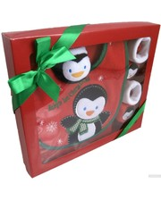 Мир детства Детский набор для Нового года Пингвин (BIB/2136SET)