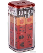 Games Workshop Warhammer 40000: Blood Angels Dice (99220101015)
