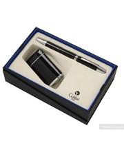 Colibri EVOKE Зажигалка Черный лак Хром + Ручка (Co49703gs-c)