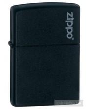 Zippo Зажигалка  218ZL Black Matte with  Logo