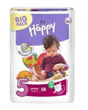 Bella Happy Junior 5 (12-25 кг ) BIG PACK 58 шт.