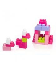 Mega Bloks First Builders Розовый в сумке, 80 деталей