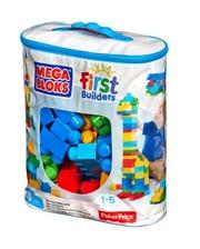 Mega Bloks First Builders Классический в сумке, 80 деталей