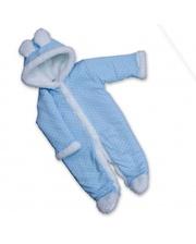 BETIS Точка, с капюшоном, интерлок, р.80, голубой (27074080)