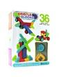 Battat Bristle Blocks Строитель, 36 деталей, в коробке