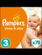 PAMPERS Sleep&Play Midi 3 (4-9 кг) JUMBO PACK 78 шт.