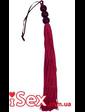 Плеть фиолетового цвета с бисером Medium Whip