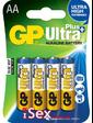 Батарейки GP Ultra Plus Alkaline 15AUP AA, 4 шт.