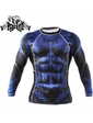 Peresvit Beast Silver Force Rashguard Long Sleeve Blue