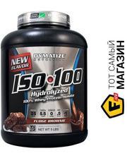 Dymatize Iso-100 1.36кг, фадж/брауни