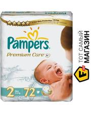 PAMPERS Premium Care Mini 2, 3-6 кг, 72 шт (4015400274728)