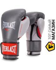 Everlast Powerlock Hook & Loop Training Gloves 14 унций, красный/серый (2200*5*)