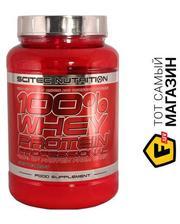 Scitec Nutrition 100 Whey Protein Professional 920г, клубника/белый шоколад