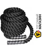 LiveUp Battle Rope 12м, black (LS3676-12)