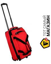 MEMBERS Expandable Wheelbag Small 33/42, Red