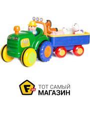 KIDDIELAND Трактор-ферма (свет, звук, русс.) (49726)