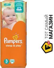 PAMPERS Sleep & Play Midi 3 5-9кг, 58шт. (4015400224211)