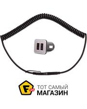 Moshi Car Charger Revolt Duo, Lightning Cable, Black (99MO022006)