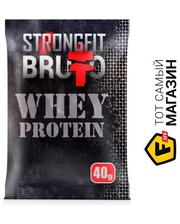 Strong Fit Bruto Whey Protein 40г, банан
