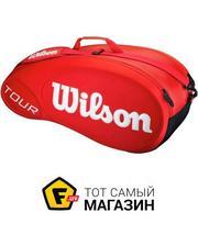 Wilson Tour Molded 6pk, red (WRZ843306)