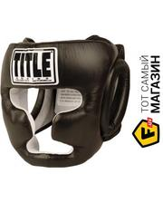 TITLE Boxing Full Face Training Headgear REG, черный (THGFF-BK)