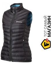 Montane Female Featherlite Down Vest Black S/UK10/US8/EUR36 (FFEDVBLAB6)