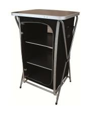Highlander - Easy Fold Camp Cupboard 3 Shelf