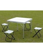 Стол для пикника + 4 стула TO-8833-B