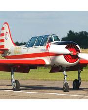 Полет на самолете ЯК 52 с фигурами пилотажа. Подарочный сертификат на 15 минут