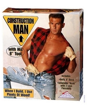 Cal Exotic Секс кукла мужчина Construction Man