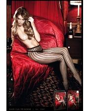 Baci Lingerie Колготки Black Net Fine Pantyhose