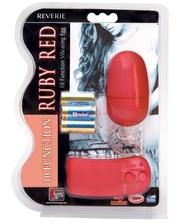 Dreamtoys Виброяйцо на пульте управления Ruby Red 10 Function Remote Contole Egg