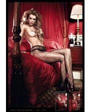 Baci Lingerie Колготки Black Net Star Pantyhose
