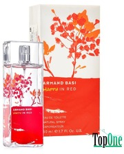 Armand Basi Happy In Red туалетная вода, жен. 50ml