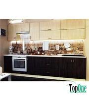Кухня с гладкими фасадами МДФ 3,0 м Альфа-Мебель