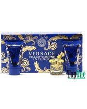 Versace Yellow Diamond Intense набор, жен. (парф. вода 5ml+лосьон д/тела 25ml+гель д/душа 25ml)