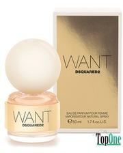 Dsquared2 Want парфюмированная вода, жен. 50 мл 59257