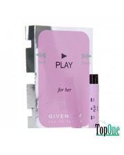 Givenchy Play for Her туалетная вода жен., 1 мл пробирка