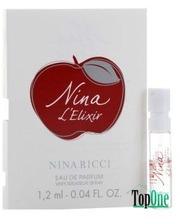 Nina Ricci Nina L`Elixir парфюмированная вода, жен. 1.2ml пробирка 29693