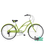 Electra Cruiser Lux 7D Ladies\' Green Metallic SKD-48-42