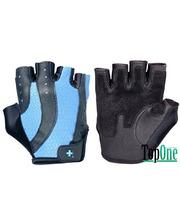 HARBINGER Pro Wash&Dry - Black/Periwinkle blue L