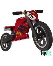 Kiddimoto Heroes деревянный, с автографом Joey Dunlop TT SKD-79-46