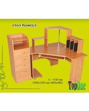 Угловой компьютерный стол Консул Альфа-Мебель
