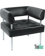 Офисный диван Примтекс Плюс D 03 D-5 Черный