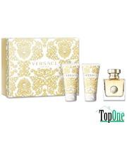 Versace Pour Femme White набор, жен. (парфюмированная вода 50ml+лосьон 50ml+гель для душа 50ml)